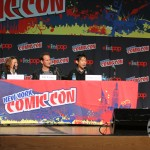 NYCC 2012: The Conjuring panel: Ron Livingston, Lili Taylor, Patrick Wilson, director James Wan and moderator Chris Hardwick