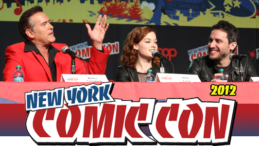 NYCC 2012 Bruce Campbell Evil Dead Remake Panel
