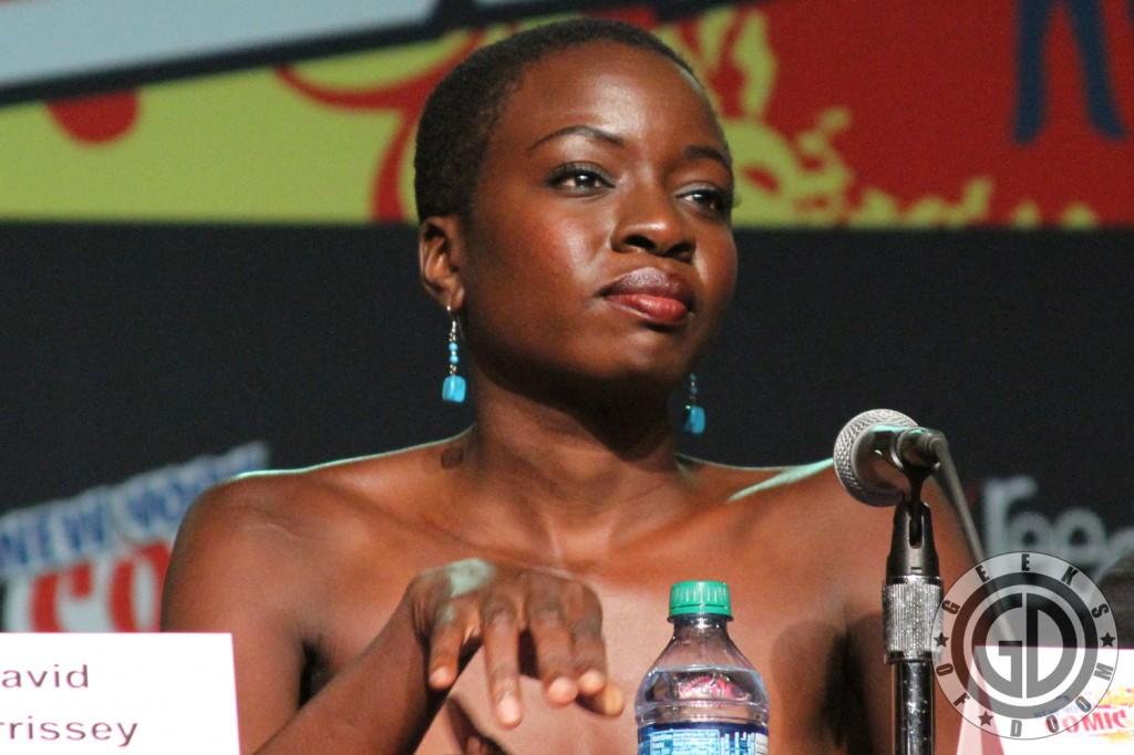 NYCC 2012: The Walking Dead panel: Danai Gurira