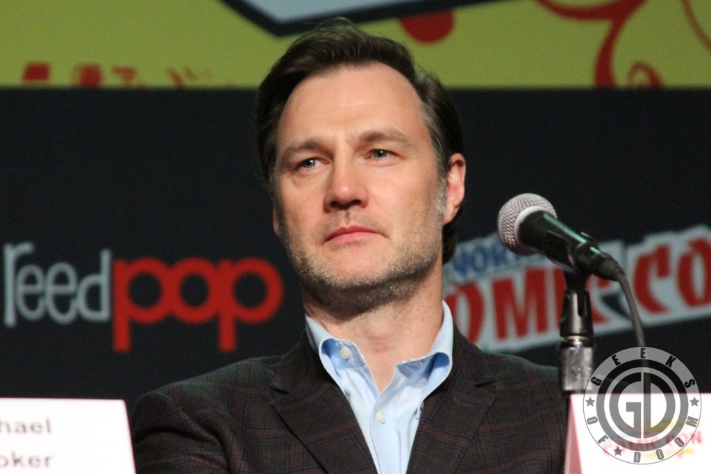 NYCC 2012: The Walking Dead panel: David Morrissey