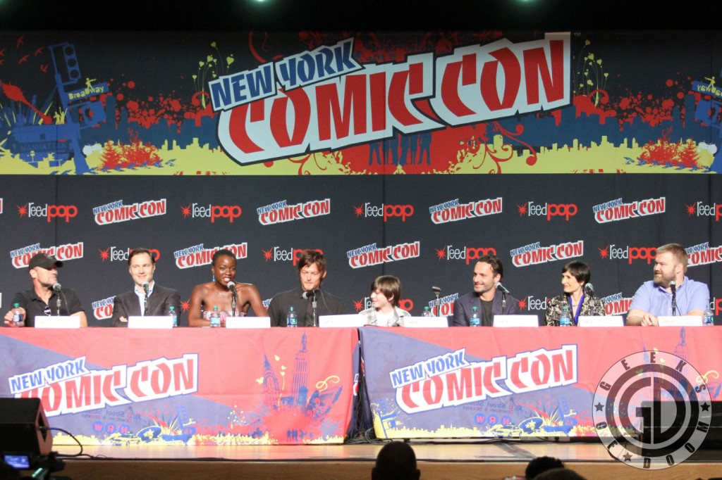 NYCC 2012: The Walking Dead panel
