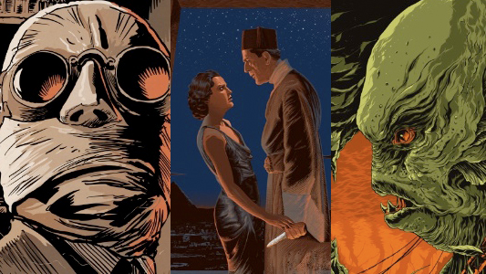 Mondo Universal Monster Header