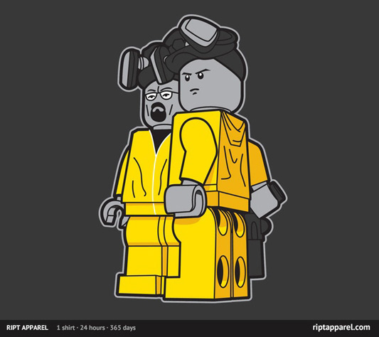 Breaking Bad Bricking Bad Shirt