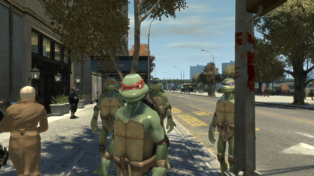 Grand Theft Auto Ninja Turtles Image