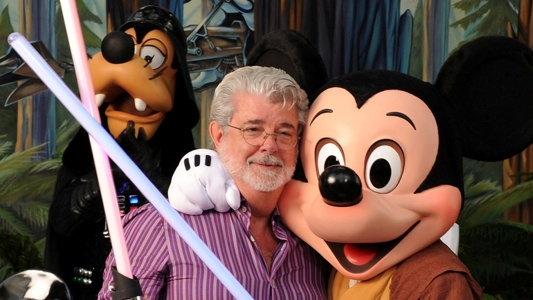 George Lucas and Mickey Mouse Header