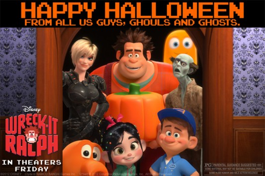 Disney Halloween: Wreck-It Ralph ecard