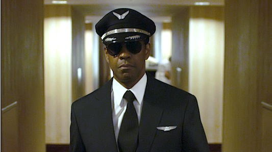 Denzel Washington is Whip Whitaker in FLIGHT 