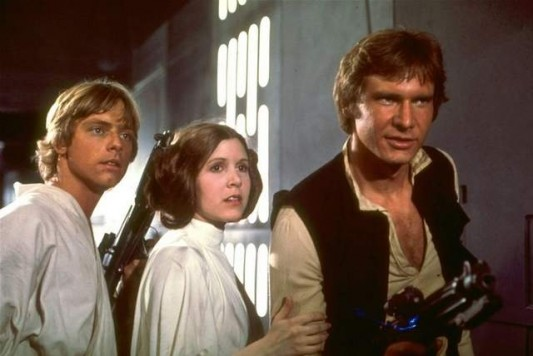 Star Wars Luke, Leia, Han Image