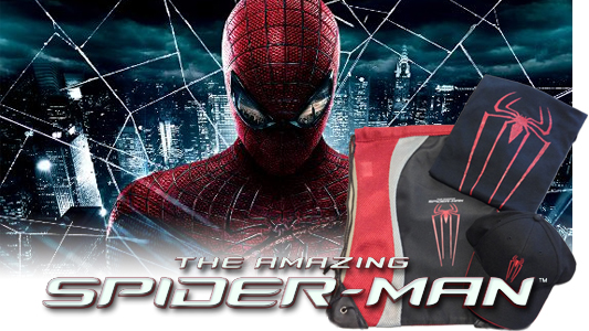 The Amazing Spider-Man VoD giveaway banner