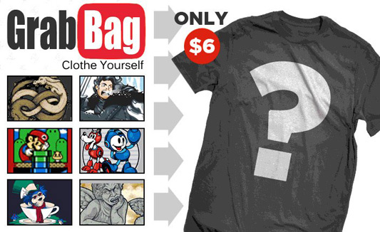 Teefury t-shirt Grab Bag