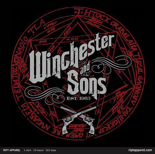 Supernatural Winchester & Sons shirt