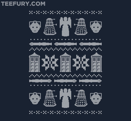 Doctor Who Who's Sweater Shirt