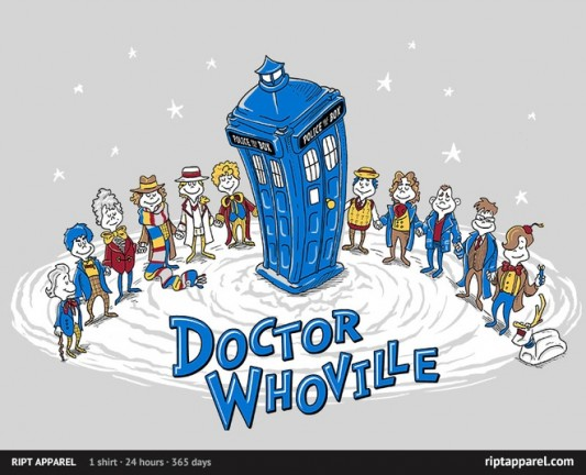 Doctor Who &#039;Doctor Whoville&#039; Shirt