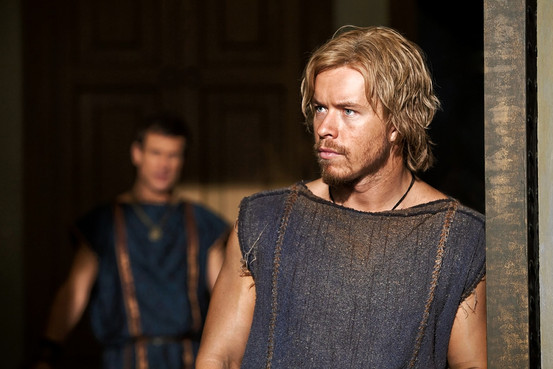 Julius Caesar in Spartacus Image