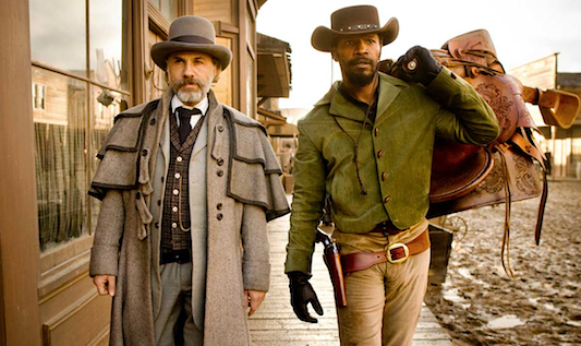 Django Unchained: Waltz and Foxx