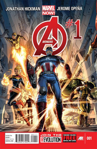 Marvel Now! Avengers #1