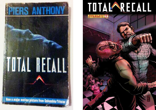 Total Recall: Book and Comic