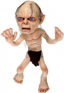 Lord of the Rings 11-Inch Gollum Plush Image