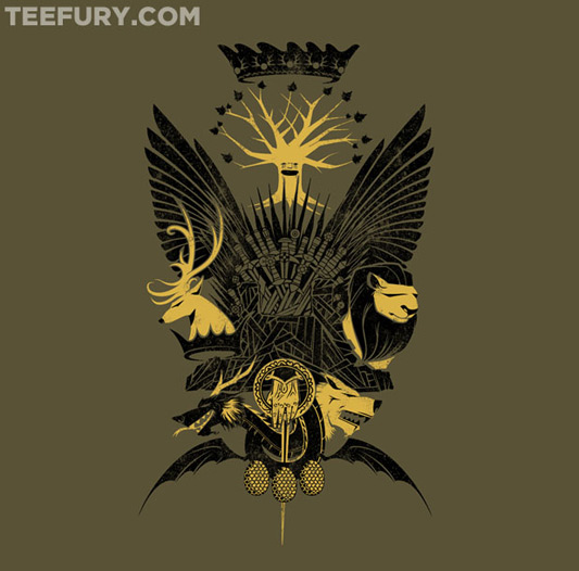 Game Of Thrones &#039;Head of the Households&#039; Shirt