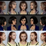 BioShock Infinite Headshot Comparison