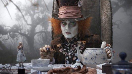 Johnny Depp as the Madd Hatter in Tim Burton's Alice in Wonderland