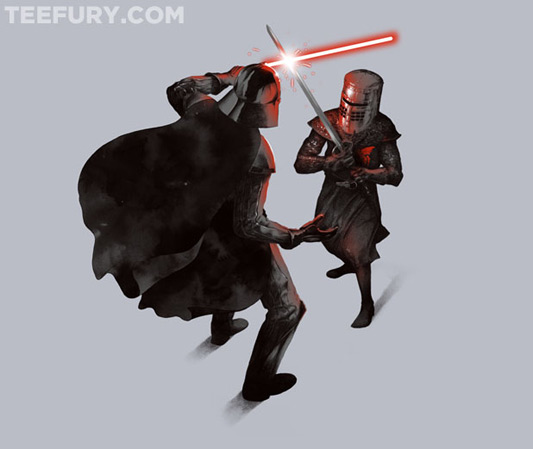 Star Wars Monty Python Dark Duel Shirt