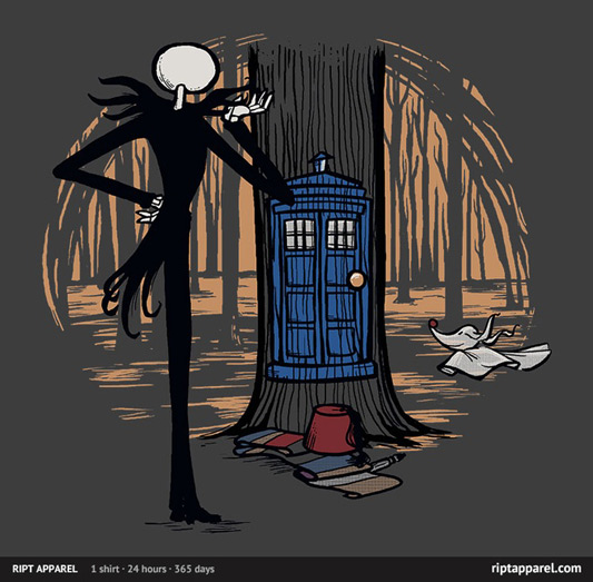 Doctor Who Nightmare Before Christmas Who's This Shirt