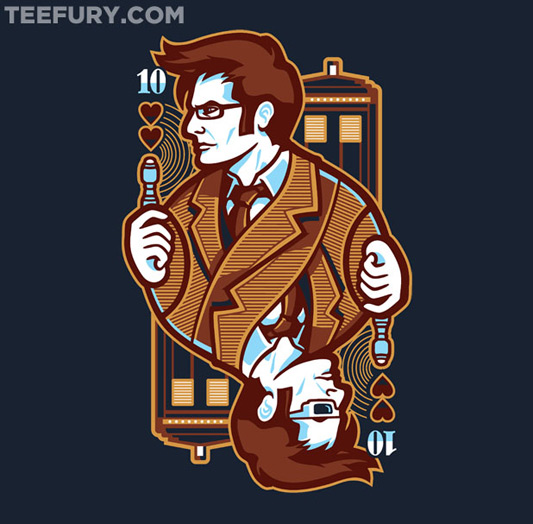 Doctor Who '10th of Hearts' Shirt