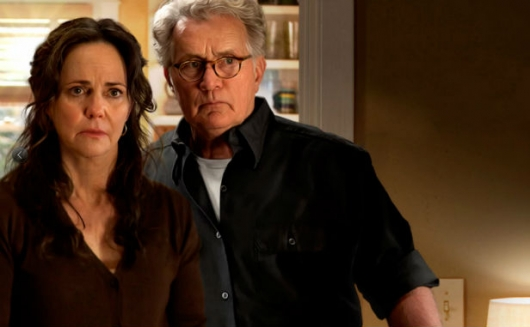 Martin Sheen as Uncle Ben and Sally Field as Aunt May