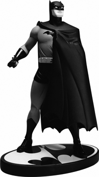 Batman Black and White Statue Darwyn Cooke