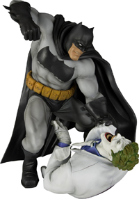 Batman vs. The Joker Statue