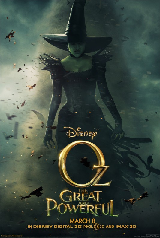 Oz: The Great and Powerful Poster