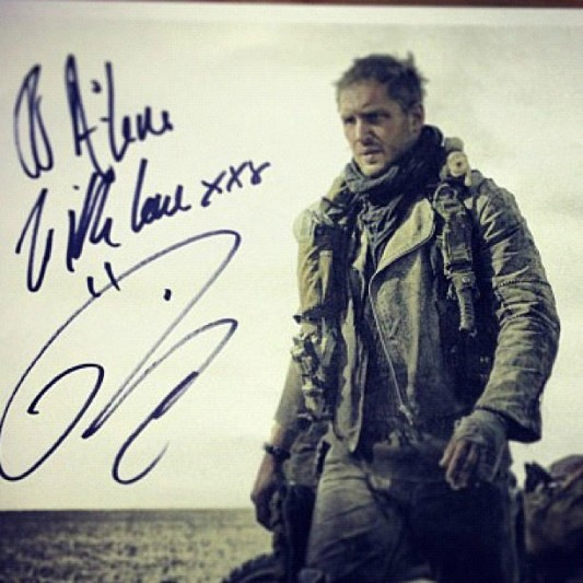 Tom Hardy as Mad Max Image