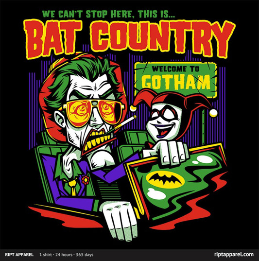 Batman Harley Country Shirt