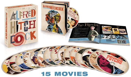 Alfred Hitchcock: The Masterpiece Collection (Limited Edition)