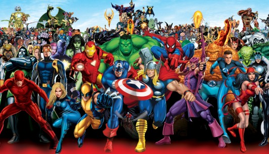 Marvel Superheroes Image