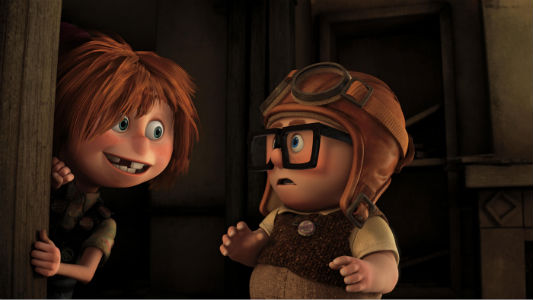 Carl and Ellie, forever companions