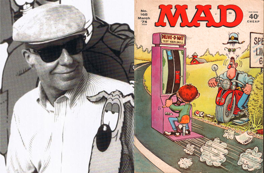 Don Martin and Mad Magazine 1974 cover