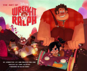 """The Art of Wreck-It Ralph"" cover"