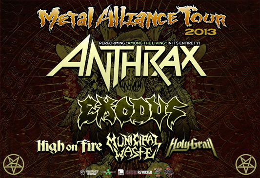 Metal Alliance Tour - Anthrax, Exodus