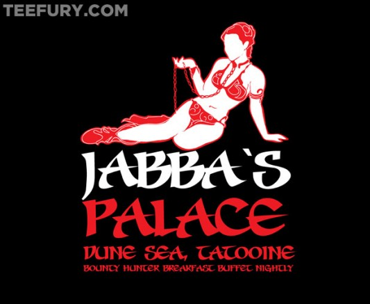 Star Wars Jabba's Gentleman's Club shirt