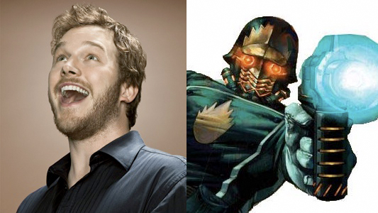 Chris Pratt signs on to play Star-Lord