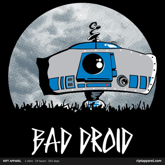 Star Wars Bad Droid Shirt