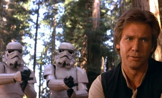 Harrison Ford as Han Solo Image