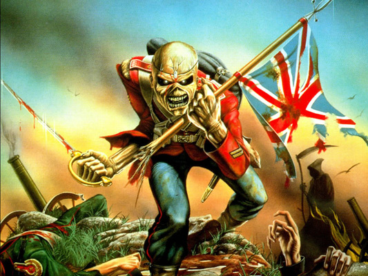 Iron Maiden The Trooper Eddie