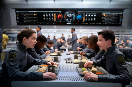 Ender's Game Mess Hall