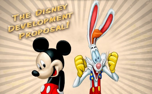 Mickey Mouse & Roger Rabbit Image