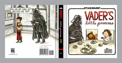 Vader's Little Princess back cover