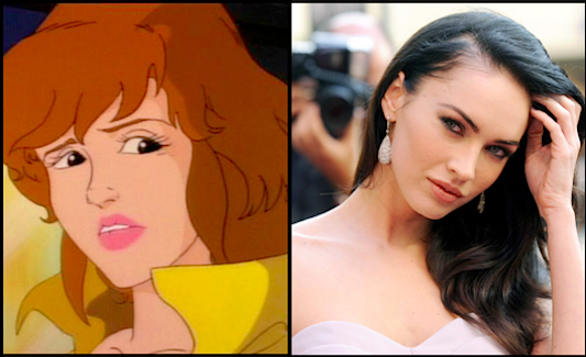TMNT: April O&#039;Neil is Megan Fox