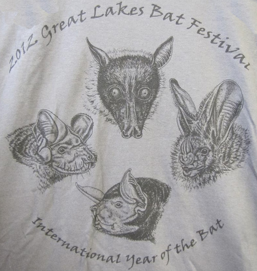 2012 Great Lakes Bat Festival T-Shirt